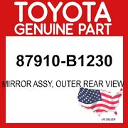 Toyota Genuine Oem 87910-b1230 Mirror Assy, Outer Rear View 87910b1230