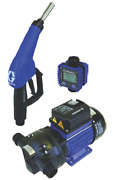 Graco 12v Electric Pump Package With Auto Nozzle With Meter
