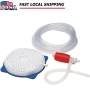 Above-ground Pool Cover Siphon Drain Pump Cover Water Saver Pool Cover Drainer