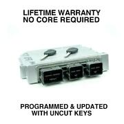 Engine Computer Programmed With Keys 2006 Ford Focus 6s4a-12a650-pb Uzm1 2.3l