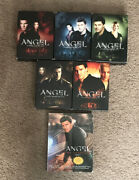 Angel Complete Series Season 1-5 Box Set Dvd Lot + Episode Guide Collection Rare