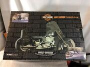 Collectible 2002 Harley Davidson Motorcycle Fully Functioning Telephone Pre-own