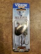 Lotn Of 3 Blue Fox Classic Vibrax Spinners - Size 5 7/16 Oz. Candyback Finish