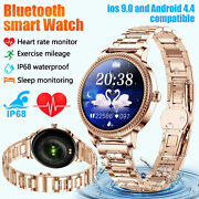 Waterproof Smart Watch Heart Rate Fitness Tracker For Iphone Android Samsung Ios