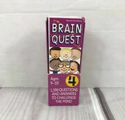 Brain Quest Grade 4 Ages 9-10 1,500 Questions And Answers Revised 4th Edition