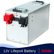 Lithium Iron Phosphate 12v 300ah Rechargeable Battery Home Charger Bms Solar Rv