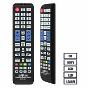Universal Remote Control Compatible Replacement For Samsung Tv/ 3d/ Lcd/