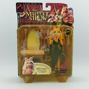 Signed Palisades Glamour Miss Piggy Exclusive Figure Muppets Michael Horn