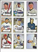 2007 Topps And03952 Pick-a-rookie Tulo Gordon Braun Lind Young Hamilton Miller Upton