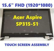 Acer Spin 3 Sp315-51 Laptop Black Lcd Touch Screen Module 15.6