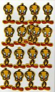 17 Vintage Tweety Bird Looney Tunes Patches.lot.fast Shipping.