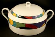 Mikasa Currents Casserole 2 1/2 Quarts M5101 Excellent Cond. No Signs Of Use.