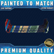 New Painted To Match - Rear Upper Bumper For 2017-2019 Toyota Highlander W/ Park