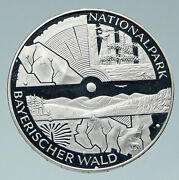 2005 Germany Bavarian National Park Proof Silver Old German 10 Euro Coin I86486