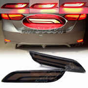 For Toyota Camry 18-20 Led Rear Bumper Brake Light Sequential Turn Signal Smoked