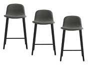 Authentic Dwr Exclusive Bacco Counter Stool Set Of 3   Design Within Reach