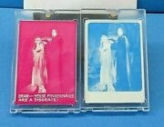 1975 Topps Vault Shock Theater Hammer Horror Cards Color Separation Proofs W/coa