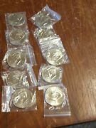 2009 P And D Kennedy Half Dollar Bu 10 Us Coin Lot Nice Looking Coins Lb-13