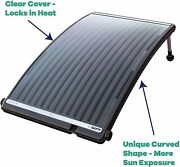 Game 4721-bb Solarpro Curve Solar Pool Heater Compatible With Intex And Bestway