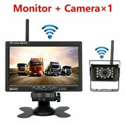 Rear View Camera Wireless For Bus Rv Trailer Excavator Car Monitor Reverse Image