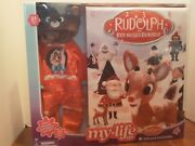 My Life As Rudolph Advent Calendar Reindeer Outfit For Doll New In Box
