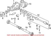 Genuine Oem Rear Left Cv Axle Assembly For Bmw 33207647027