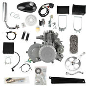 80cc 2-stroke Bicycle Motor Kit For Motorized Bicycle Petrol Gas Electric Start