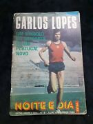 Carlos Lopes Cover Magazine 1976 Olympic Marathon Gold Medal In Los Angeles