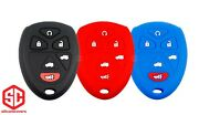 3x New Keyfob Remote Fobik Silicone Cover Fit / For Select Gm Vehicles.