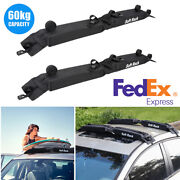 Car Suv Soft Roof Top Cargo Luggage Carrier Rack For Kayak Snow Board Surfboard