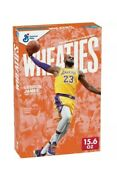 Lebron James Wheaties Cereal Box Los Angeles Lakers 🔥15.6 Oz Free Fast Ship