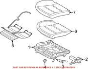 Genuine Oem Seat Cover For Bmw 52107293499