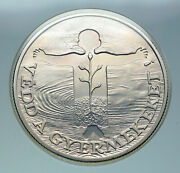 1981 Hungary 1982 Fifa World Cup Soccer Football Silver 500 Forint Coin I86587