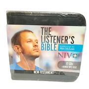 The Listener's Bible Niv ☆ Max E Mclean ☆ 17 Audio Cds And Mp3 Disc New Testament