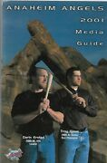 2001 Anaheim Angels Media Guide - Troy Glaus