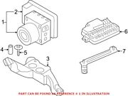 Genuine Oem Abs Hydraulic Assembly For Mini 34506897145