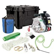Portable Winch Pcw5000-hk Gas-powered Pulling Winch Gxh50 Hunting Kit Pcw5000