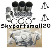 3tne78t Overhaul Rebuild Kit For Yanmar Engine Part With Valve Guide Seat 1set