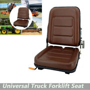 Suspension Seat Adjustable Forklift Replacement Seats For Lawn Mower Tractor Atv