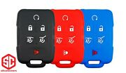 3x New Keyfob Remote Fobik Silicone Cover Fit / For Select Gm Vehicles