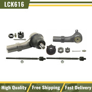 Moog For Vw Beetle Golf Jetta Front Inner And Outer Steering Tie Rod Ends Kit