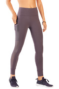 Fabletics Mila High-waisted Pocket Leggings Shadow Size S Rrp £77 Dh100 Qq 17