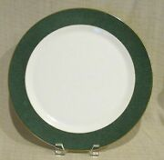 New Wedgwood Crown Emerald Service Plate Authorized Dealer