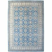12and0391x17and0395 Oversized Vintage Look Kazak Hand Knotted Natural Wool Rug R55958