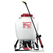 4 Gal Rechargeable 24 Volt Lithiumion Battery Backpack Sprayer Deluxe Padded