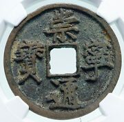1101ad Chinese Northern Song Dynasty Antique Hui Zong Cash Coin China Ngc I86691