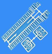 Sd40-2 White R-t-r Only  Handrail Set Athearn Ho Scale