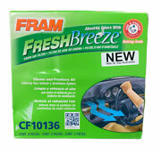 Fram Fresh Breeze Cf10136 Cabin Air Filter Absorbs Odors With Arm And Hammer