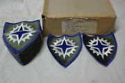 Vintage Ww2 Wwii Us Military Issue Army Corps 16 Insignia Military 20 Patches C