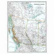 Antique Map 1914 - Canada Western Provinces And Territories By W And Ak Johnston